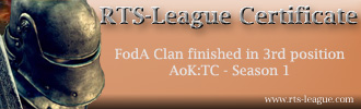 FodA: Third Place